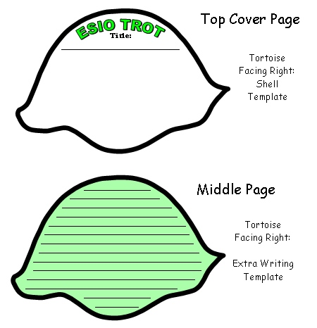 Esio Trot Color Shell Creative Writing Templates