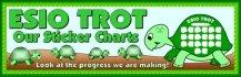 Esio Trot Turtle Sticker Charts Bulletin Board Banner