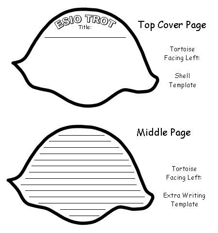 Esio Trot Turtle Shaped Shell Templates