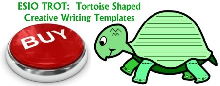 Buy Esio Trot Turtle Shaped Creative Writing Templates Now