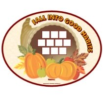 Fall Cornucopia Incentive Chart