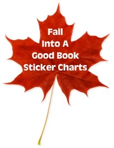 Fall and Leaf Reading Sticker Charts