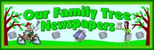 Family Tree Newspaper Writing Activity Bulletin Board Display Banner