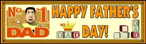 Father's Day Teaching Resources Bulletin Board Display Banner