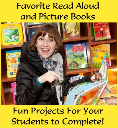 Favorite read aloud books for teachers, lesson plans, and fun book report projects.
