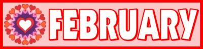 February Printable Monthly Classroom Calendar
