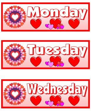 February Printable Classroom Calendar For Teachers