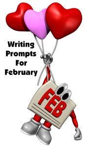 Valentine's Day and February Writing Prompts and Journal Ideas for Elementary School Students