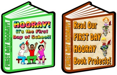 First Day Hooray Fun Templates for Student Projects