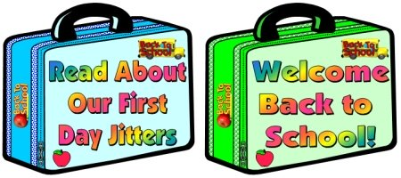 First Day Jitters Julie Danneberg Bulletin Board Display Examples