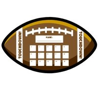 Football Sports Theme Incentive and Sticker Charts