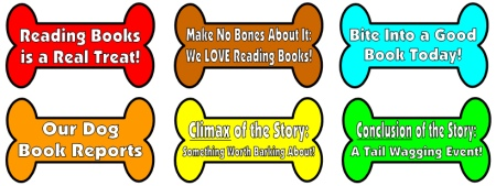 Free Dog Bones Book Report Project Templates