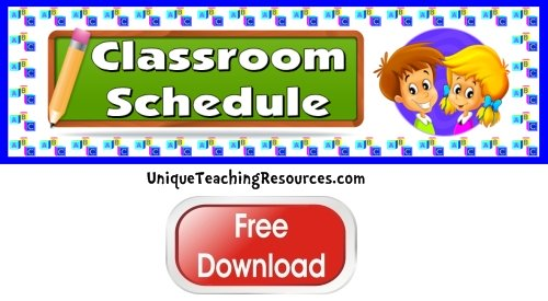 Click here to download this free classroom helpers bulletin board display banner.