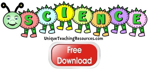 Click here to download this free science caterpillar bulletin board display banner for your classroom.