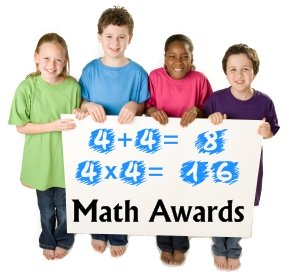 Free Math Award Certificates for Elementary School Students and Teachers