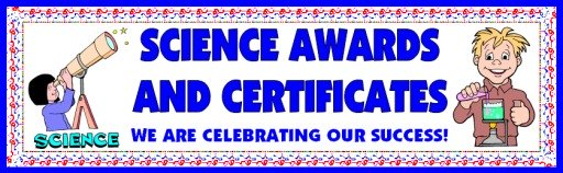 Free Science Awards and Certificates for Elementary School Students