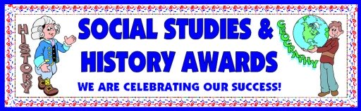 Free Social Studies Awards and Certificates for Elementary School Students