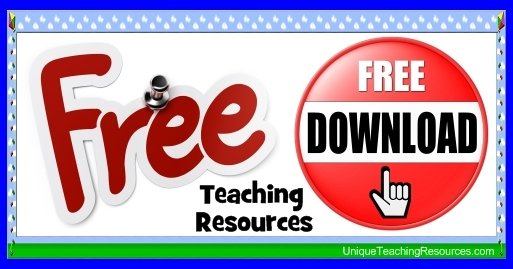 Free Teaching Resources and Lesson Plans To Download For Elementary School Teachers
