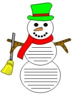 Frosty The Snowman Templates