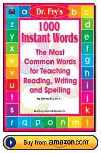Fry 1000 Instant Sight Words Resource Book For School Teachers