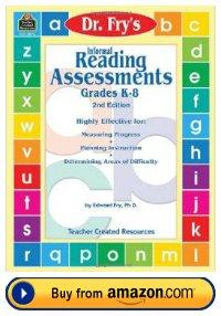 Dr. Fry Instant Sight Words Informal Reading Assessment Teacher Resource Book
