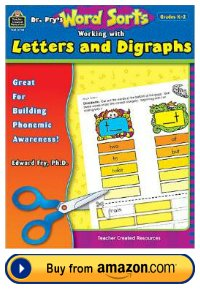 Dr. Fry teacher resource book letters and digraphs