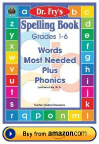 Dr. Fry Teacher Resource Book For Spelling