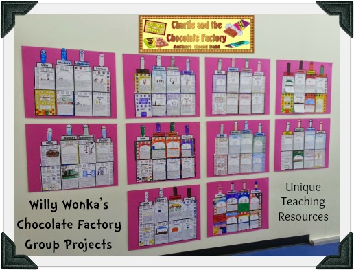 Fun and Creative Group Projects For Charlie and the Chocolate Factory by Roald Dahl