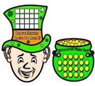 Fun St Patricks Day Leprechaun Sticker Charts and Templates For Teachers