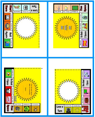 Fun Monopoly Game Board Book Report Project Worksheets and Templates Matilda Roald Dahl
