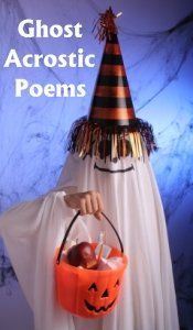 Halloween Ghost Acrostic Poems and Poetry Lesson Plans