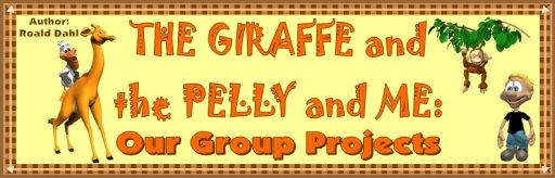 Giraffe and the Pelly and Me Free Banner For Roald Dahl Group Project