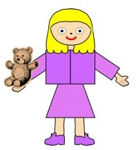 Main Character Book Report Project Girl With Bear