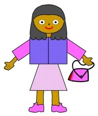Main Character Book Report Project Girl With Purse