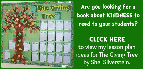 The Giving Tree Quotes: 100+ Quotes About Kindness: Free Classroom Posters And