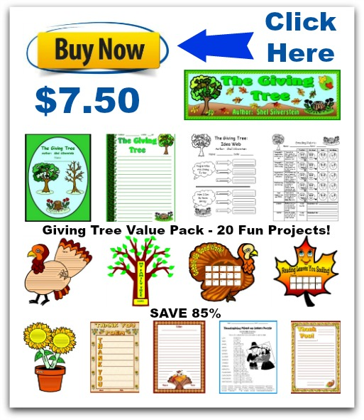 Click Here To Buy This Giving Tree Value Pack