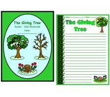 The Giving Tree Printable Creative Writing Worksheets