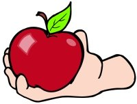 Back to School Apple for the Elementary School Teacher