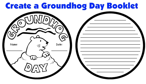 Groundhog Day Projects, Templates, and Activities for Elementary School Students