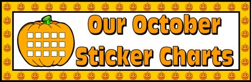 Halloween Pumpkin Bulletin and Classroom Display Banner Example and Ideas for Teachers
