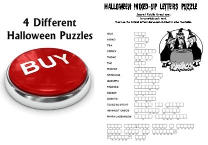 Halloween Puzzles Lesson Plans For Teachers Buy Now Button