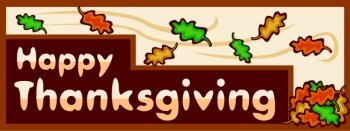 Happy Thanksgiving Sign From Unique Teaching Resources