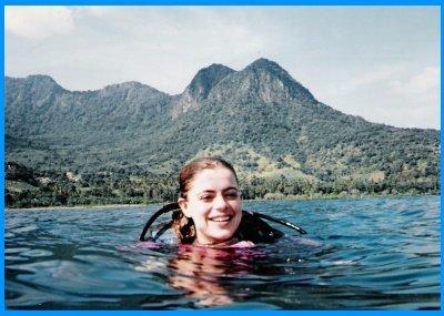 Heidi McDonald Diving in Bali, Indonesia