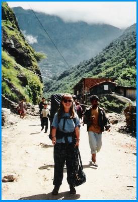 Heidi McDonald Backpacking Through Asia