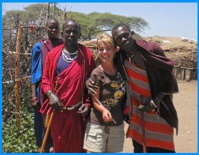 Heidi McDonald Visit to Masai Village
