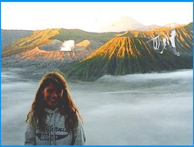 Heidi McDonald Mount Bromo Volcano, Indonesia