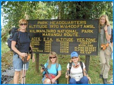 Heidi McDonald and Friends Mt. Kilimanjaro Hike
