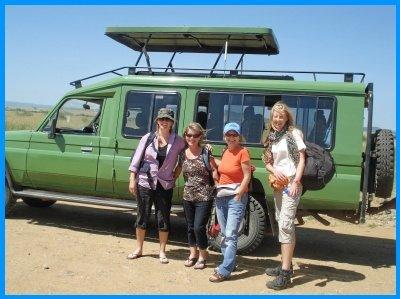 Heidi McDonald Serengeti Safari