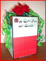 3D Three Dimensional Present and Gift Box Project