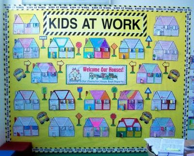 Main Character House Book Report Projects and Writing Templates